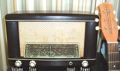 Vintage tube radio to guitar conversions
